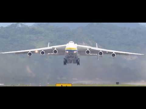 Antonov AN-225 cargo transporter