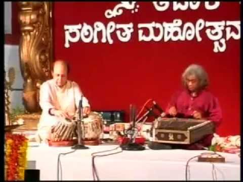 Pt Tarun Bhattacharya - Santoor - Tataaka Sangeet Mahotsav 2013 Karkala- POORIYA DHANASHREE