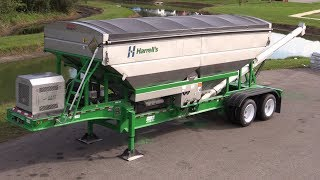 Operating a Hays Fertilizer Trailer