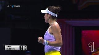 WTA TOP 5: Předlouhé výměny a ostrá Belinda Bencic