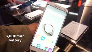 Alcatel 3V: First Look | Hands on | Launch | MWC 2018
