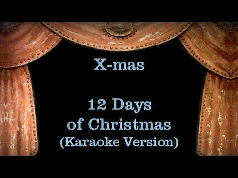 12 Days of Christmas - Lyrics (Karaoke Version)