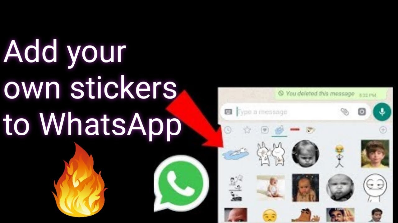 Add your own stickers to whatsapp whatsapp custom stickers