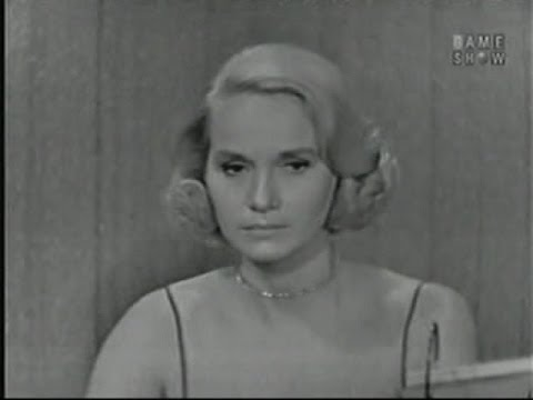 What's My Line?  Eva Marie Saint; Tony Randall panel Sep 7, 1958
