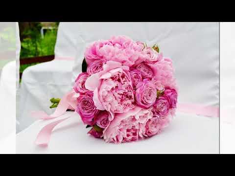 Свадебный Букет из Пионов и Роз, Букеты невесты Фото