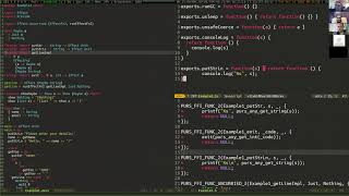 PS Unscripted - Pure-C, a C back-end for PureScript
