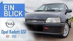 Opel Kadett GSI 16V 1991 - Ein Musterbeispiel für sportliche Kompakte - Vorstellung & Kaufberatung