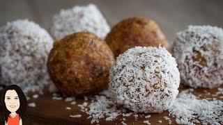 Lemon Coconut Bliss Balls - Easy Vegan Snack Recipe!