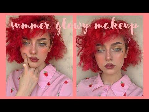Summer Glowy Makeup