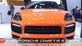 2020 Porsche Cayenne S Coupe - Exterior And Interior - Montreal Auto Show 2020