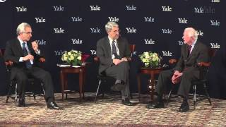 (this event streamed live on december 2nd, 2014)jimmy carter, the 39th us president, speaks in an open forum at yale world's discrimination and violen...