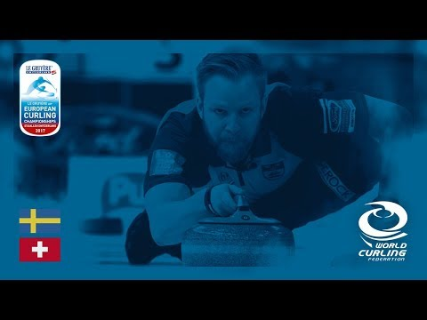 Sweden v Switzerland - Men's Round-robin - Le Gruyère AOP European Curling Championships 2017