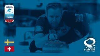 Sweden v Switzerland - Men's Round-robin - Le Gruyère AOP European Curling Championships 2017