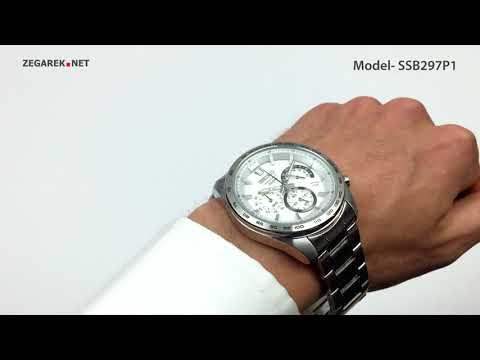 Seiko Chronograph SSB297P1 Chronograph Tachymeter Quartz - Zegarek.net