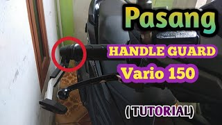 Cara pasang Pro guard // Hand guard di motor