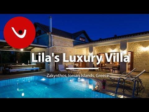 Lila's Luxury Villa  Ionian Islands Villas to Rent | Holiday Villas in Greece | By Unique Villas