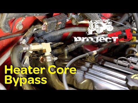 jeep wrangler heater diagram jeep wrangler heater core bypass youtube 2000 jeep wrangler heater wiring diagram jeep wrangler heater core bypass youtube
