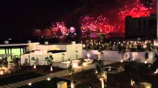Waldorf Astoria Dubai Palm Jumeirah - New Years fire works