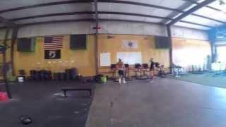 Crossfit Tabata Workout #4 (Hip-Hop Tabata w/ coach)