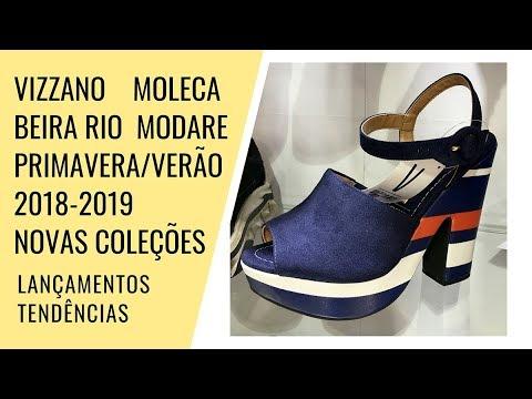 37356cf7a VIZZANO, MOLECA, BEIRA RIO E MODARE: Primavera/verão 2019 - lançamentos,  tendências [peças reais]