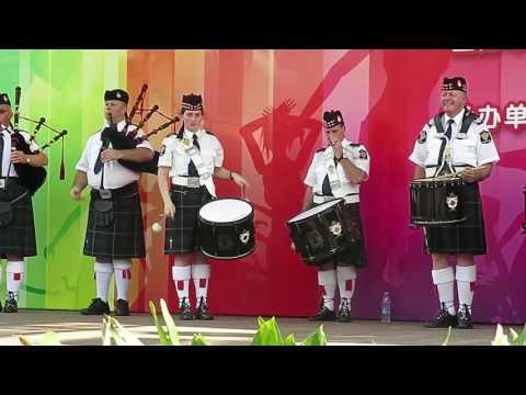 【Strawberry Alice】2016 Shanghai Tourism Festival: Bagpipes and Highland Dance, Melbourne, Australia.