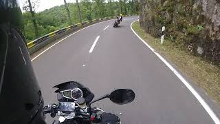 Triumph Speed Triple R Luxembourg ride