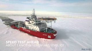Baixar Oblique Icebreaker Baltika - Ice trials on 19 March - 10 April 2015