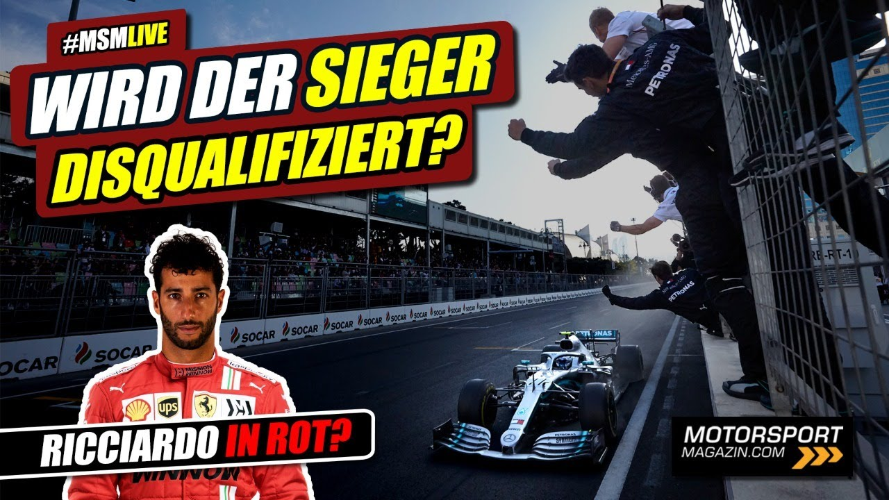 Download Wer gewinnt in Baku? Und: Wird er disqualifiziert?   Formel 1 2021