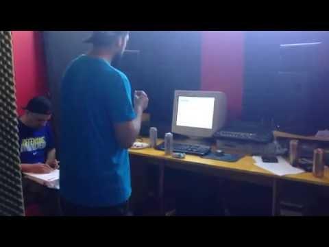 Ombladon in studio 2014-05-08