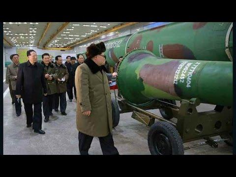 North Korea fires 2 missiles into sea