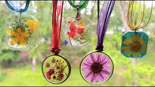 #62- Dried Flower Resin Jewelry, A Beginner's Guide From Picking A Flower To Finished Art