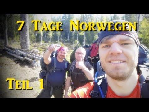 7 Tage Norwegen Trekking Teil 1