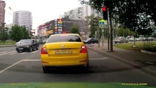 Бешеный таксист