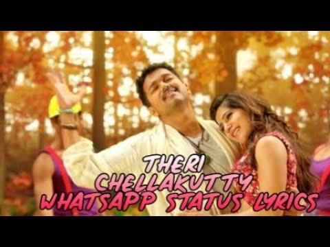 WhatsApp Status || Theri Chellakutty Song