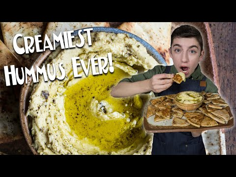 CREAMIEST HUMMUS EVER! | Eitan Bernath