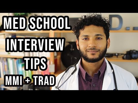 Med School Interview Tips + Resources | MMI Vs Tradional Medical Interviews Questions