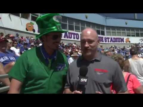 """Chad Stypmann """"Tha Voice"""" aka Chad the beer guy special on sports net"""