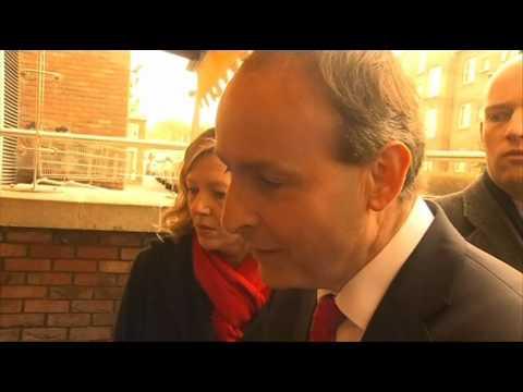 Michael Martin meets voters