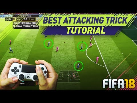 FIFA 18 THE SECRET OF SCORING GOALS IN ULTIMATE TEAM - HOW TO ATTACK & CREATE SCORING CHANCES