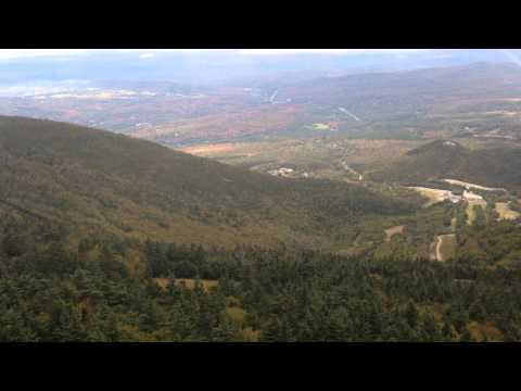 Cannon Mountain Tram Ride - Descent