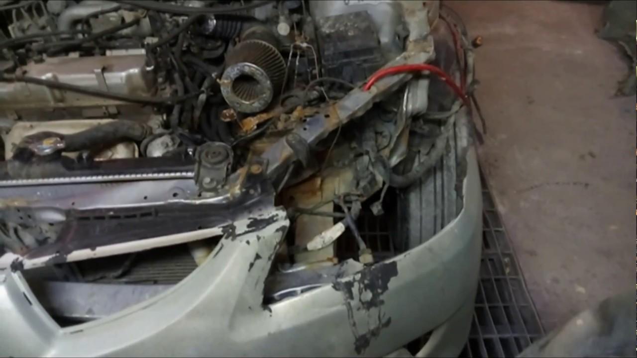Обзор Mitsubishi Lancer 9 за 95 тыс  руб ! Обзор, восстановление! (Часть 2)