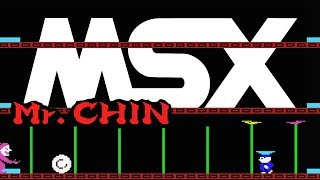 ミスター・チン Developed by HAL Laboratory (1984) MSX.