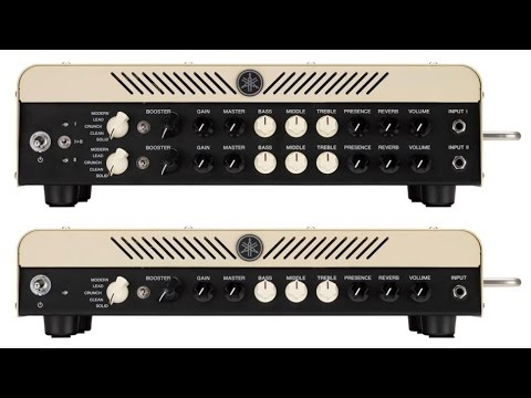 Yamaha thr100hd dialling in dual amps funnycat tv for Yamaha thr10x review