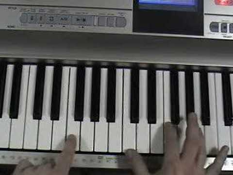 How to Play The Scientist by Coldplay on the Piano