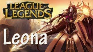 League of Legends - Conhecendo a Leona