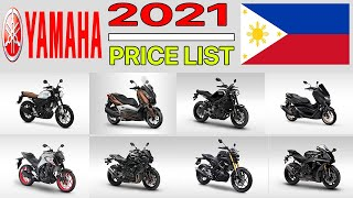 YAMAHA MOTORCYCLE PRICE LIST IN PHILIPPINES 2021