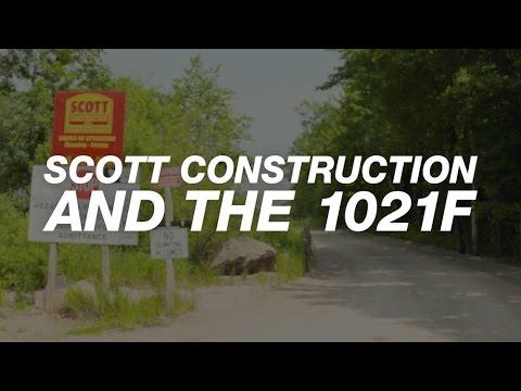 North America: 1021F Powers Granite Quarry for Scott Construction