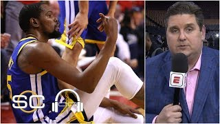 Kevin Durant's Achilles injury changed the NBA - Brian Windhorst | 2019 NBA Finals | SC with SVP