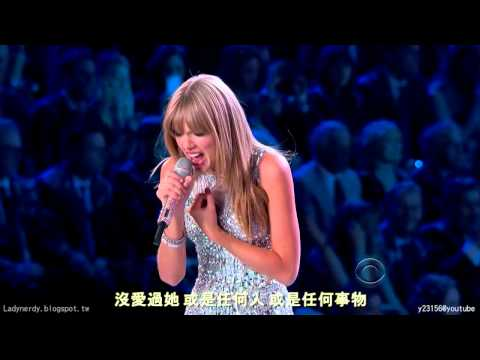 【HD繁中字】泰勒絲 Taylor Swift I KNEW YOU WERE TROUBLE 大麻煩 @ Victoria's secret show 2013
