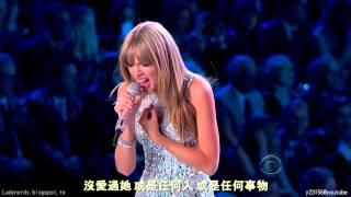 【HD繁中字】泰勒絲 Taylor Swift I KNEW YOU WERE TROUBLE 大麻煩 @ Victoria's secret show 2013